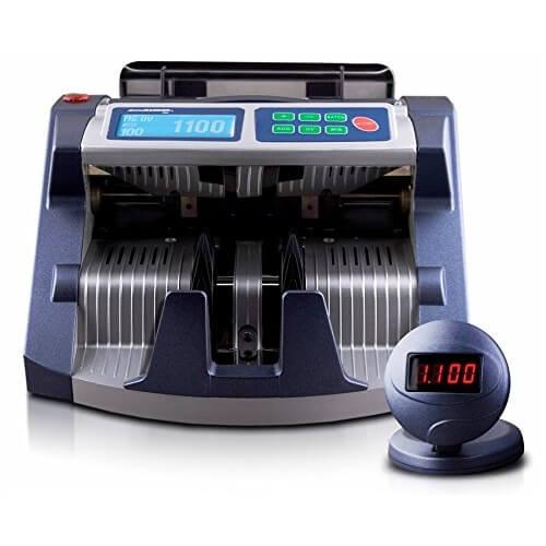 1-AccuBANKER AB 1100 PLUS UV/MG Geldscheinzähler