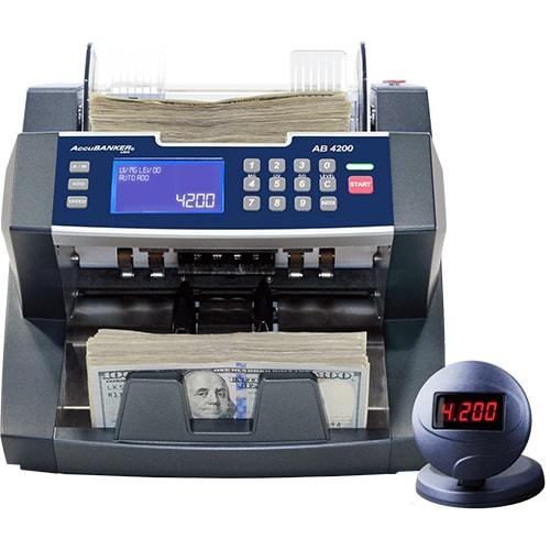 1-AccuBANKER AB 4200 UV/MG Geldscheinzähler